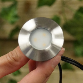 Techmar Astrum 12V Plug & Play Garden Deck Light Bundle - 8 Light Kit