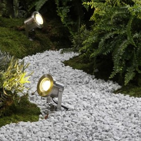 Techmar Oak 12V Garden Post Light Bundle - 8 Light Kit