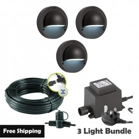Techmar Catalpa Garden Spotlights Bundle - 12 Light Kit