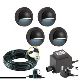 Techmar Orion Garden Post Lights Bundle - 10 Light Kit