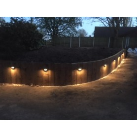 Techmar Albus 12V Plug & Play Garden Lights Bundle - 4 Light Kit