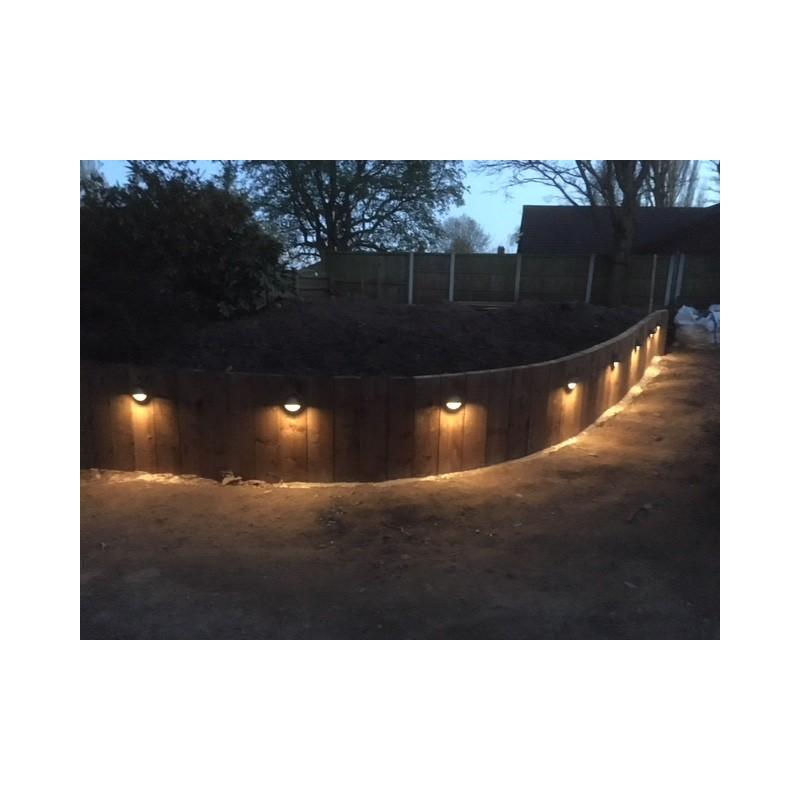 Techmar Albus 12V Plug & Play Garden Lights Bundle - 4 Light Kit