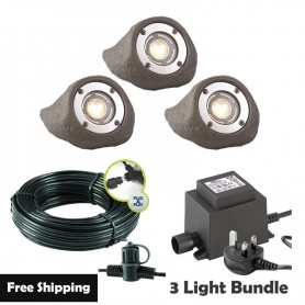 Techmar Deimos Garden Wall Light Bundle - 5 Light Kit