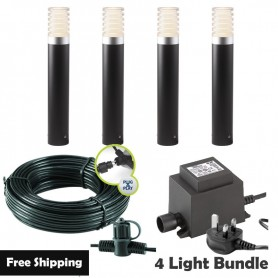 Techmar Lapis LED Waterproof Rock Light Bundle - 4 Light Kit