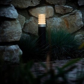 Techmar Rumex LED Garden Post Light Bundles - 4 Light Kit