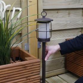 Techmar Arco 60 LED Garden Post Light Bundles - 4 Light Kits