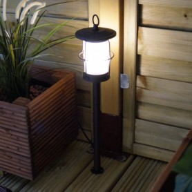 Techmar Arco 60 LED Garden Post Light Bundles - 3 Light Kits