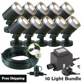 Lightpro 12V Dolomite 3W IP68 Rock Light