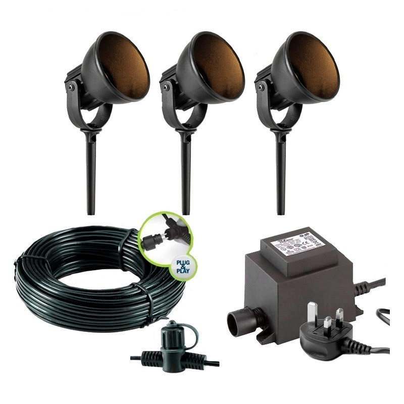 Limosa 90 12v outdoor led filament post light aloadofball Image collections