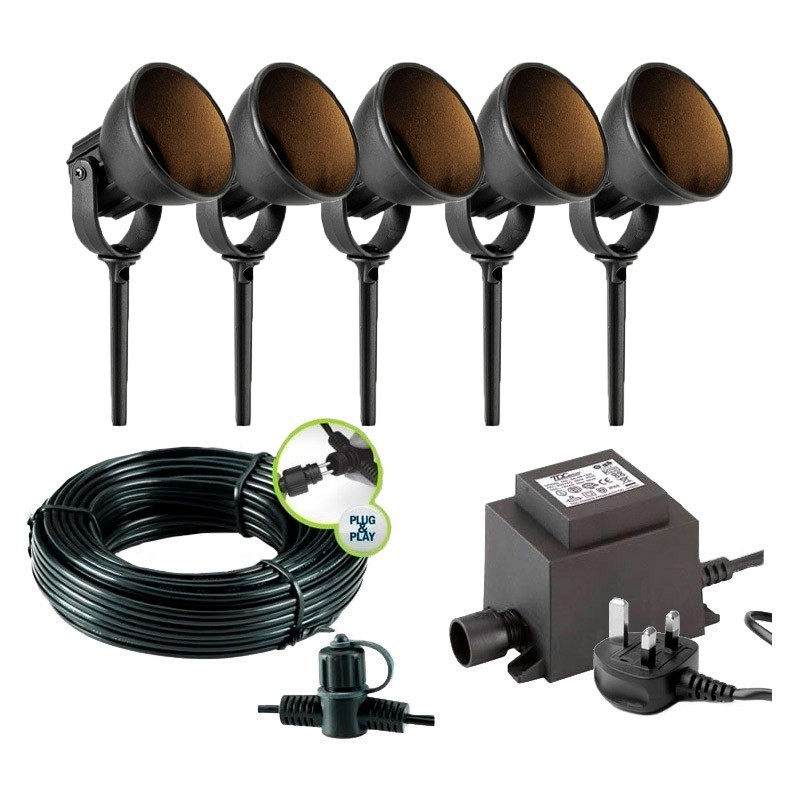 Pavo 12V Stainless Steel Adjustable Garden Wall Light