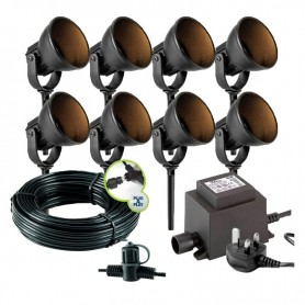 Sibus Anthracite Up / Down 12V Garden Wall Light