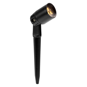 Sibus Black Up / Down 12V Garden Wall Light