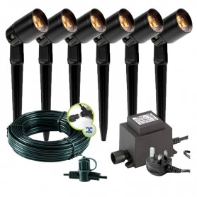 Goura Anthracite 12V Garden Up / Down Wall Light