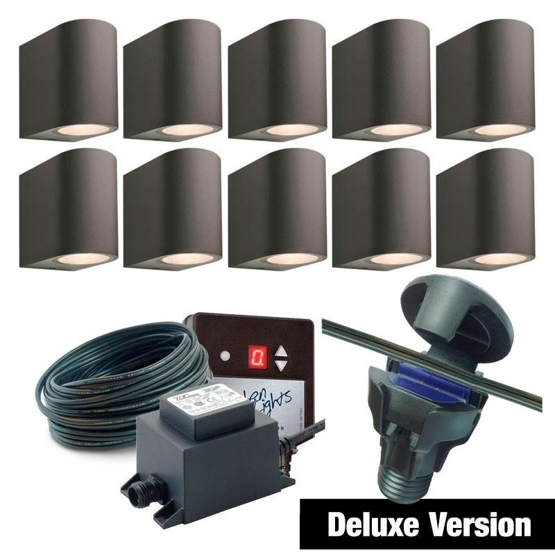 Otis Up / Down 12V Stainless Steel Garden Wall Light