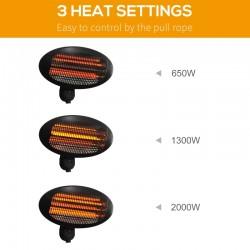 Techmar Marcus 12V Plug & Play Garden Post Light Bundle - 3 Light Kit