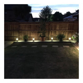 Techmar Lilium 12V 1W LED Outdoor Post Light
