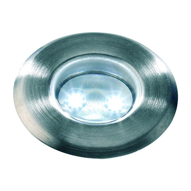 Flat 40 - Remote LED Garden Stone Light, Multifunction, Multicolour