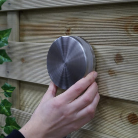 Techmar Sirius Garden Blue 12V LED Uplight